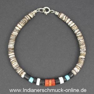 Indianerschmuck  Armband Muschel mit Türkis Indianerschmuck - Indianerschmuck ...