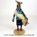Zuni Fire God Kachina Zuni Indianerschmuck